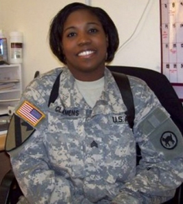 This undated handout provided by the family shows Army Staff Sgt. Lillian Clamens, 35, of Lawton, Okla.  Clamens died Wednesday, Oct. 10, 2007,  in wounds suffered from rockets fired on Camp Victory in Baghdad.   (AP Photo/Courtesy of Family)